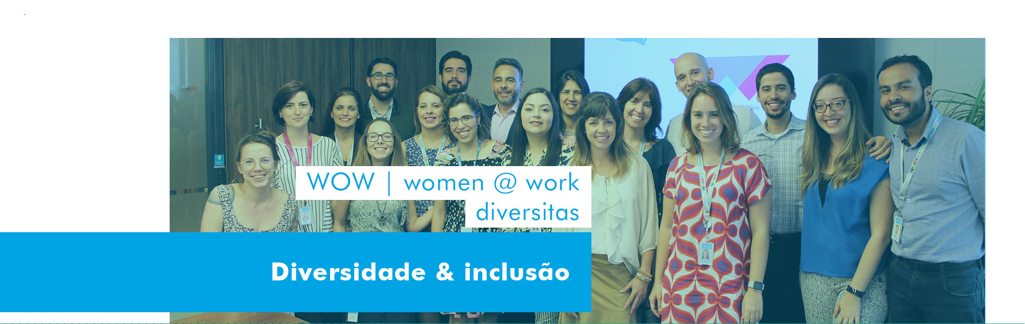Participantes do WOW - Womans @ Work
